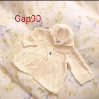 ベビーギャップ(babyGAP)のgap  新品90cmコットンカーディガン(カーディガン)