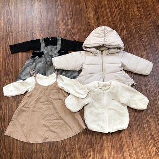 petit main - ベビー80冬服セット