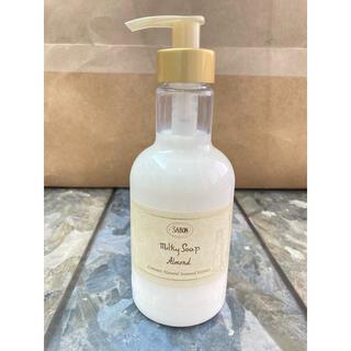 サボン(SABON)のSABON milky soap Almond ボディソープ(ボディソープ/石鹸)