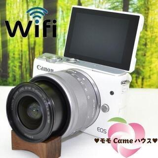 Canon - キャノン EOS M10☆WiFiつきミラーレス☆大人気☆1775