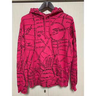 Supreme - Supreme Gonz Embroidered Map フーディー