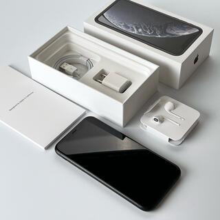 Apple - iPhone XR 128GB SIMフリー ブラック