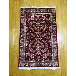 ペルシャ絨毯 カシャーン産 ハンドメイド(カーペット)