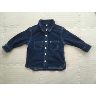 ムジルシリョウヒン(MUJI (無印良品))の無印良品デニムシャツ未使用品(シャツ/カットソー)