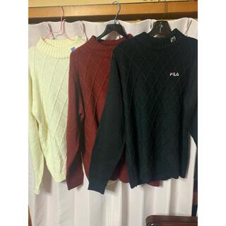 フィラ(FILA)のFILA セーター 3枚セット(ウエア)