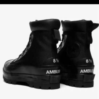 """AMBUSH - Ambush × Convers CTAS DUCK BOOT """"BLACK"""""""