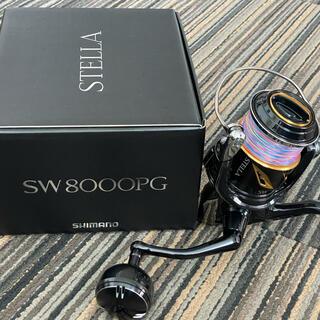 SHIMANO - 19ステラSW 8000PG 使用1回 PE3号300m巻き