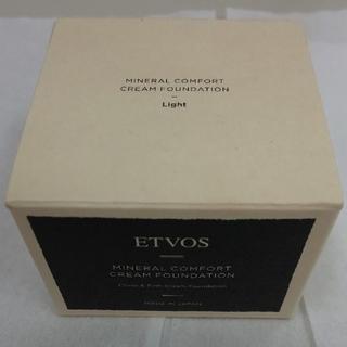 エトヴォス(ETVOS)のETVOS ミネラルコンフォートクリームファンデーション ライト(ファンデーション)