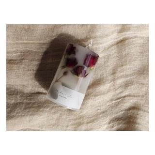 botanical aroma candleーrose geraniumー