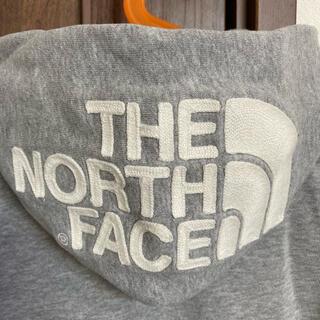 THE NORTH FACE - ノースフェイス フードロゴ パーカー 100