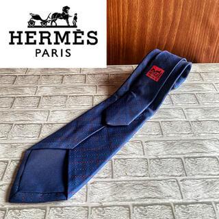 Hermes - 確実正規 HERMES エルメス  ネクタイ  ラグジュアリー ブルーパープル