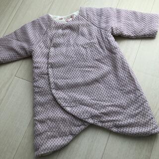 ボンポワン(Bonpoint)のボンポワン☆中綿ロンパース 6m(カバーオール)
