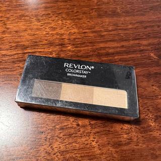 REVLON - レブロン カラーステイ ブロウ メーカ02 ライトブラウン アイブロウ
