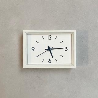 MUJI (無印良品) - 無印良品 駅の時計・ミニ MJ-WCJSM2