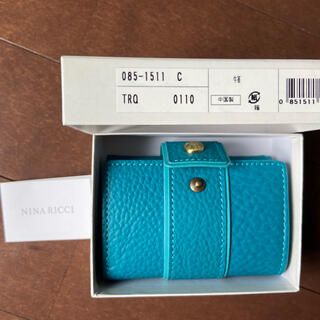 NINA RICCI - 新品未使用 ニナリッチ ミニ折り財布