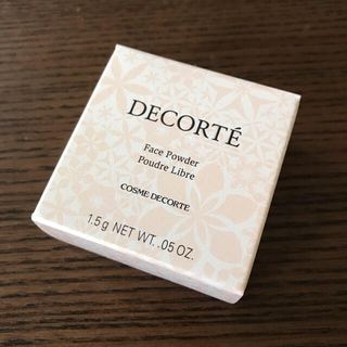COSME DECORTE - コスメデコルテ フェイスパウダー00 1.5g ミニ