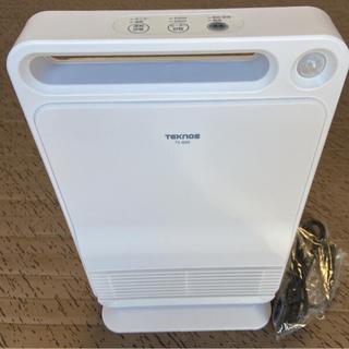テクノス(TECHNOS)のセラミックファンヒーター TEKNOS TS-800(電気ヒーター)