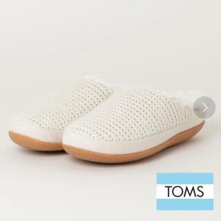 TOMS - 新品・外箱あり TOMS IVY ニットスリッポン 23cm