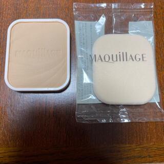 MAQuillAGE - マキアージュ ドラマティックパウダーファンデーション  オークル10