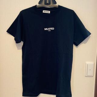 MILKFED. - ミルクフェド Tシャツ(Mサイズくらい)黒 1枚