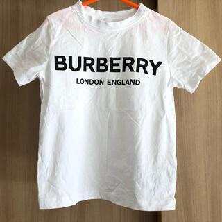 BURBERRY - バーバリー  白 ロゴTシャツ 4Y(104cm)