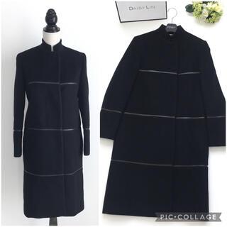 Gucci - 美品 グッチ GUCCI カシミヤ ロング コート ブラック