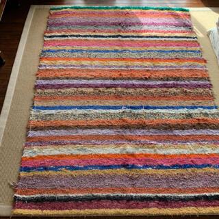 絨毯 カラーラグ ラグ カラフル