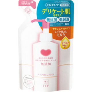 牛乳石鹸 - カウブランド 無添加メイク落としミルク 詰替用(130ml)