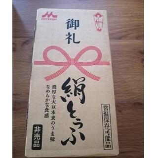モリナガニュウギョウ(森永乳業)の森永 絹豆腐 12パック(豆腐/豆製品)