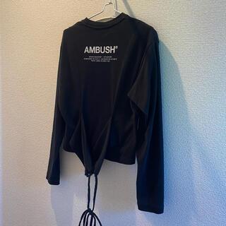 AMBUSH - アンブッシュ ambush  2019AW ロングTシャツ 長袖Tシャツ