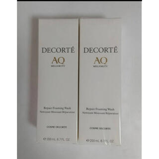 COSME DECORTE - コスメデコルテ AQ ミリオリティ リペア フォーミングウォッシュ洗顔料2セット