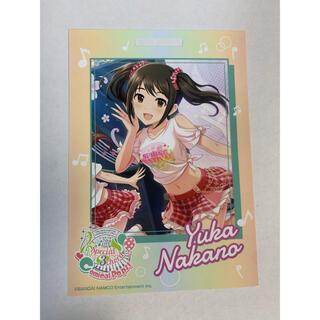 バンダイナムコエンターテインメント(BANDAI NAMCO Entertainment)の卓上カレンダーカード シンデレラガールズ  中野佑香(カード)