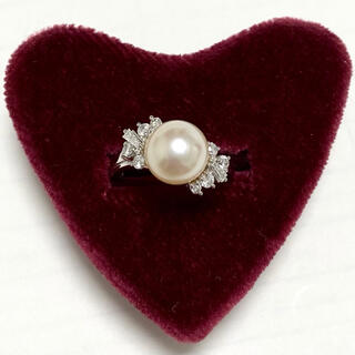 TASAKI - タサキ ダイヤモンド パール リング