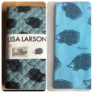 リサラーソン(Lisa Larson)のリサラーソン ハリネズミ カット生地 キルティング &タグ(生地/糸)