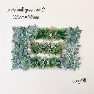 白いウォールグリーン ver.2 35cm×55cm ※光触媒加工※(その他)