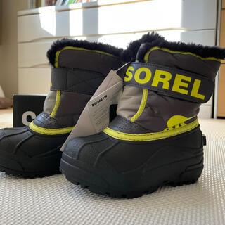 ソレル(SOREL)の【新品タグ付】SOREL スノーブーツ 14cm大きめ(ブーツ)