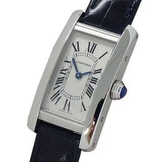 Cartier - カルティエ 時計 WSTA0016 タンクアメリカン SM クオーツ レディース