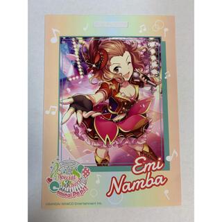 バンダイナムコエンターテインメント(BANDAI NAMCO Entertainment)の卓上カレンダーカード シンデレラガールズ  難波笑美(カード)