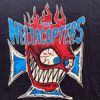 chaser社 バンドTシャツ the hellacopters ヴィンテージT