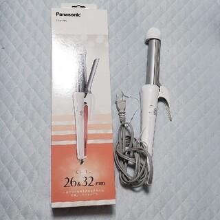 パナソニック(Panasonic)のカールアイロン 26&32mm 白 EH-HT55-W(1セット)(ヘアアイロン)