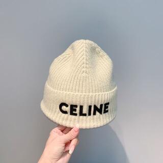 セリーヌ(celine)の限定美品CELINE毛糸の帽子a8(ハット)