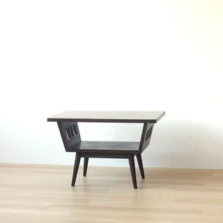 アンティーク デコラ センターテーブル 古家具 レトロ