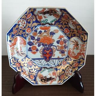 HASAMI - 林九郎 金唐草花篭図 八角鉢