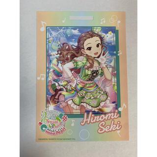 バンダイナムコエンターテインメント(BANDAI NAMCO Entertainment)の卓上カレンダーカード シンデレラガールズ  関裕美(カード)