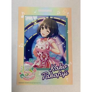 バンダイナムコエンターテインメント(BANDAI NAMCO Entertainment)の卓上カレンダーカード シンデレラガールズ  鷹富士茄子(カード)