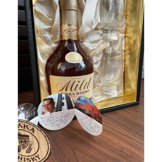 ニッカウイスキー(ニッカウヰスキー)のニッカウィスキー マイルド ウィスキー特級 テイスティンググラス付き古酒未開封(ウイスキー)