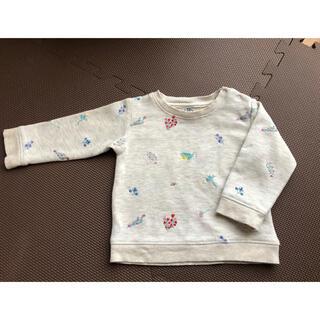 ボンポワン(Bonpoint)のボントン刺繍スウェット トレーナー 18m(シャツ/カットソー)