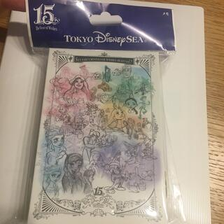Disney - ディズニーシー 15周年 メモ帳