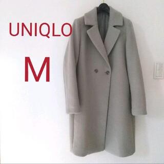 ユニクロ(UNIQLO)のユニクロ チェスターコート M グレー(チェスターコート)