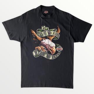 ハーレーダビッドソン(Harley Davidson)の最高デザイン 90s Harley-Davidson Tシャツ イーグル L(Tシャツ/カットソー(半袖/袖なし))